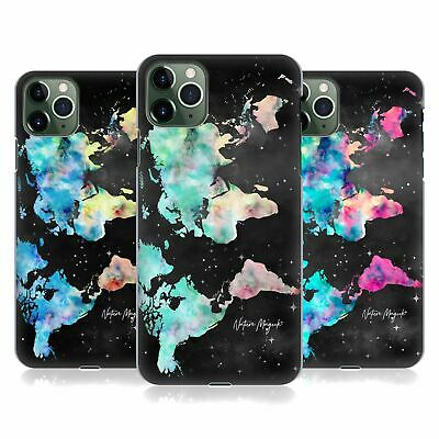 £14.65 • Buy NATURE MAGICK WATERCOLOR WORLD MAP TEAL PINK BACK CASE FOR APPLE IPHONE PHONES