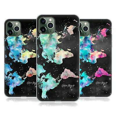 £14.65 • Buy NATURE MAGICK WATERCOLOR WORLD MAP TEAL PINK GEL CASE FOR APPLE IPHONE PHONES