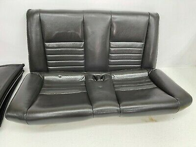 $250 • Buy 1999-2004 OEM Ford Mustang Convertible Rear Seat Back Leather GT Charcoal |T44