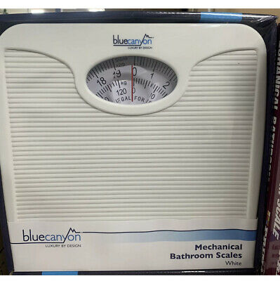 £16.50 • Buy Durable Mechanical Bathroom Weighing Scales Blue Canyon Home Stone Kg