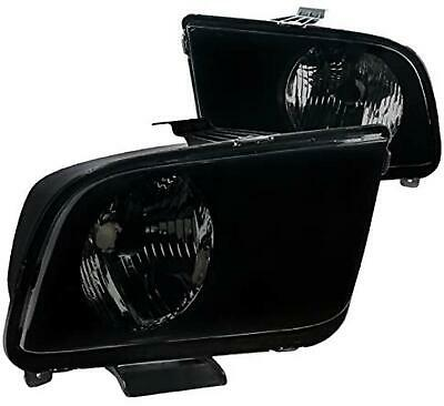 $89.99 • Buy Ford Mustang GT Base Shelby Headlights - Smoke 2005-2009 Vehicle Models