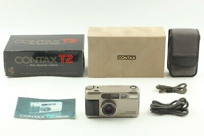 $ CDN1378.51 • Buy {MINT In BOX} CONTAX T2 D Titan Silver Sonnar 38mm F2.8 T* Data Back JAPAN #114A