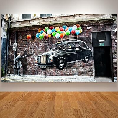 AU96.34 • Buy 3d Canvas Painting Banksy Dreams Posters And Prints Graffiti Street Art F-SHIP