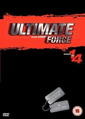 £5.89 • Buy Ultimate Force DVD Box Set Complete Series Collection Season 1-4 Ross Kemp