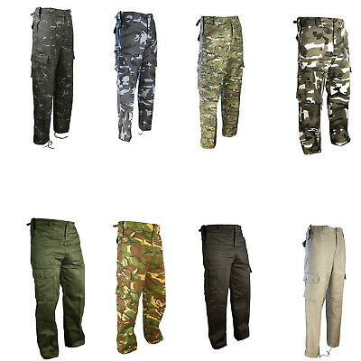 £19.85 • Buy Army Trousers Military Combat Cargo Camo Camouflage British Mtp Dpm Hunting