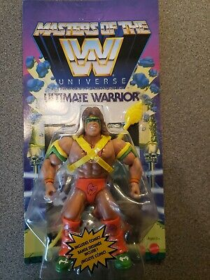 $125 • Buy MOTU / WWE / Masters Of The WWE Universe - Series 01 - ULTIMATE WARRIOR MOC