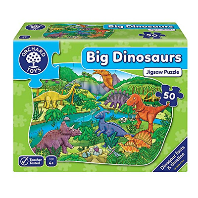 £13.03 • Buy Orchard Toys Big Dinosaurs Floor Puzzle