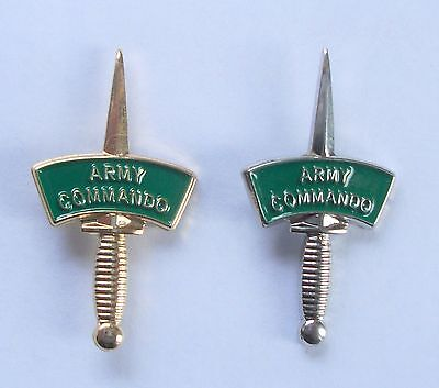 £6.95 • Buy Army Commando Dagger Lapel Pin Or Walking Stick Mount - Gold Or Silver Metal