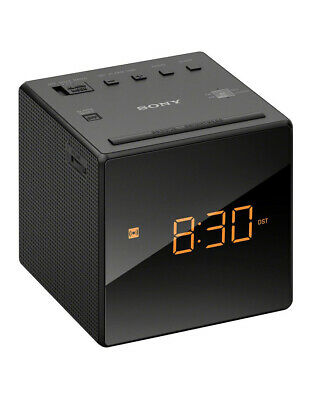 AU40 • Buy Sony Clock Radio Black ICFC1B
