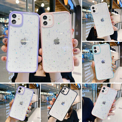 AU8.96 • Buy Glitter Case For IPhone 12 11 Pro Max XR X 8 7 Shockproof Bling Star Clear Cover