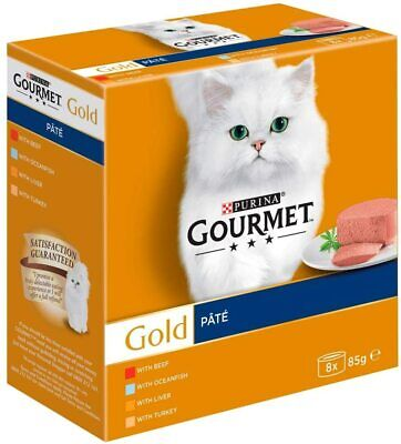 £8.49 • Buy Gourmet Gold - Mousse Fish Selection Cat Food - 8 X 85g