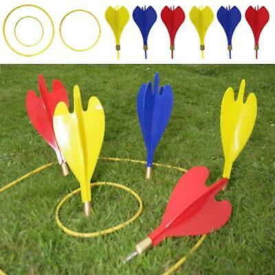 £10.29 • Buy Garden Large Giant Lawn Darts Toss Throwing Game Set Party Fun Family Outdoor
