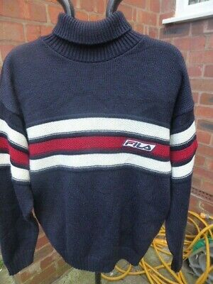 £29.99 • Buy Mens Vintage FILA Jumper - Size S Great Condition