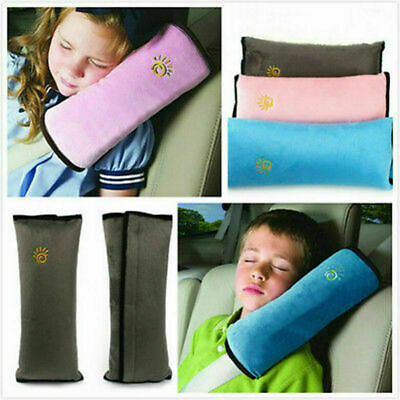 £3.99 • Buy Child Car Safety Seat Belt Pillow Shoulder Strap Pad Cushions Head Supports Kids