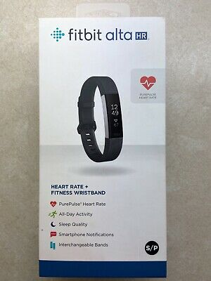 AU175 • Buy Fitbit Alta HR (Brand New) Black Small