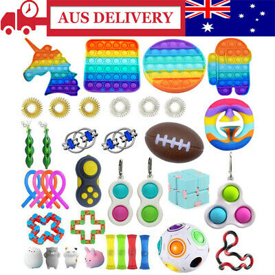AU29.99 • Buy Toy Pack With It Simple Dimple Stress Fidget Reliever And Anti-Anxiety Tools AUS