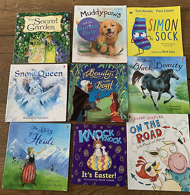 £6.99 • Buy Young Reader Book Bundle, 9 Picture Books Usborne, Classic Tales Etc