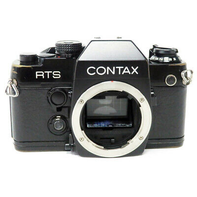 $ CDN353.96 • Buy Used Rts Ii Quartz Contax Film Camera Product Rank Kizu And Tekari Stains There
