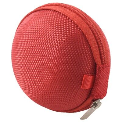 £2.02 • Buy Carrying Hard Case Bag For Earphone Headphone IPod MP3 Red O2T1
