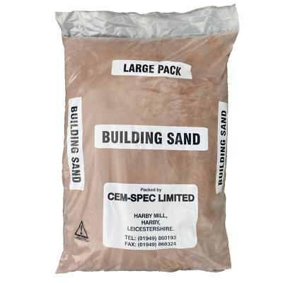 £13.13 • Buy Red Building Sand | 20kg Bag | Poly Bag | Next Day Delivery