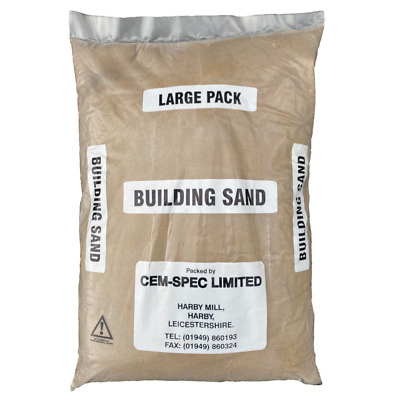 £13.33 • Buy Yellow Building Sand | 20kg Bag | Poly Bag | Next Day Delivery