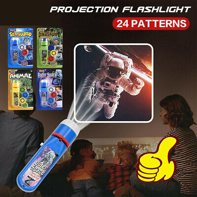 £4.99 • Buy Mini Projector Flashlight Torch Light-up Toys For Children Early Educational Toy