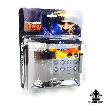 £18 • Buy Steelseries ZBOARD Limited Edition Keyset - Gaming For Starcraft **NEW IN BOX**