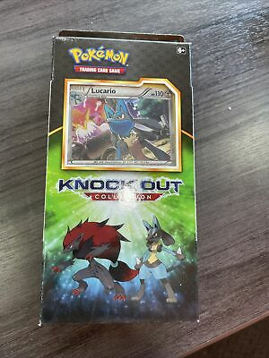 $23 • Buy Pokemon Knockout Collection Box New SEALED Lucario