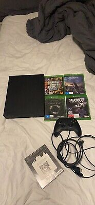 AU200 • Buy Xbox One X 1 TERRAbyte Console With Controller (amaxing Condition)