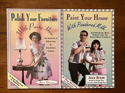 $6.50 • Buy New. Lot Of 2. Paint Your House With Powdered Milk & Polish Your Furniture....