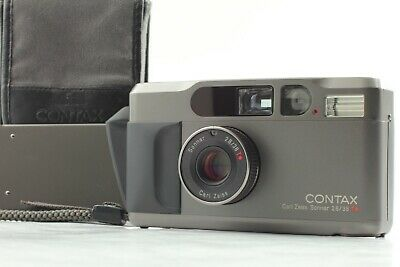 $ CDN1087.31 • Buy 【Apps Mint READ】 Contax T2D T2 D Titan Black Data Back 35mm Film Camera JAPAN