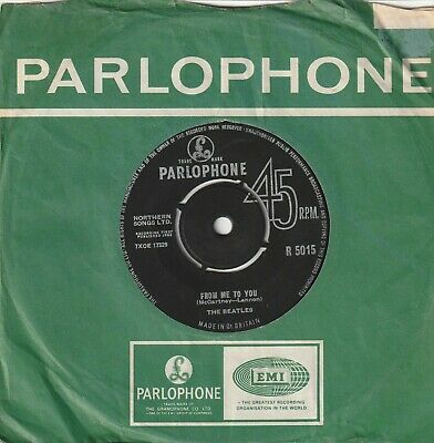 £4 • Buy THE BEATLES From Me To You / Thank You Parlophone R 5015 Classic Pop From 1963