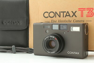 $ CDN4386.19 • Buy 【UNUSED In Box W/ Case】CONTAX T3 Titanium Black Point & Shoot 35mm From Japan 31