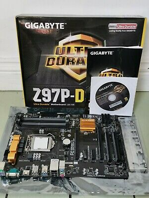 AU179.96 • Buy Gigabyte Z97P-D3 Intel LGA1150 ATX Motherboard DDR3 *Boxed, Tested And Complete*