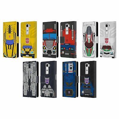 £10.02 • Buy Official Transformers Alternate Mode Leather Book Wallet Case For Lg Phones 2