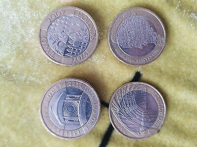 Rare Two £2 Pound Coins UK Coins Olympics,Commonwealth,Navy,Bible,Mary Rose,ww1 • 3.99£