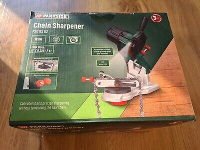 £36.99 • Buy Parkside Electric Bench Chainsaw Blade Saw Chain Sharpener Grinder PSG 85 B2