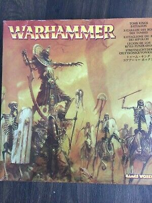 Tomb Kings Battalion Warhammer Fantasy Undead Army OOP • 125£