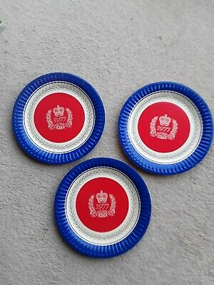 £1 • Buy 1977 The Queen's Silver Jubilee Paper Plates £1each. 3 Available.