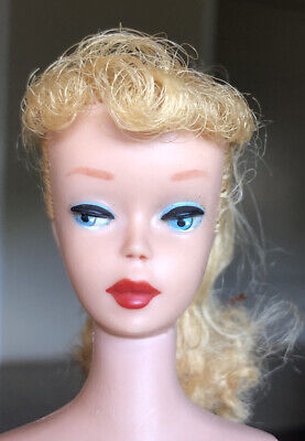 $ CDN332.10 • Buy Vintage #5 Ponytail Barbie No Green Orig Paint