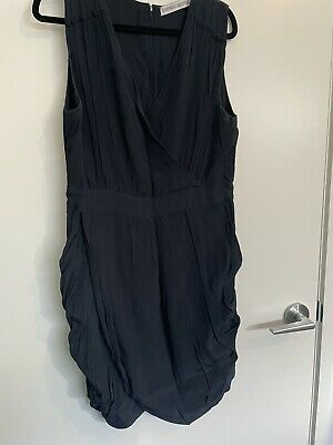 AU12 • Buy Finders Keepers Navy Dress Size 14