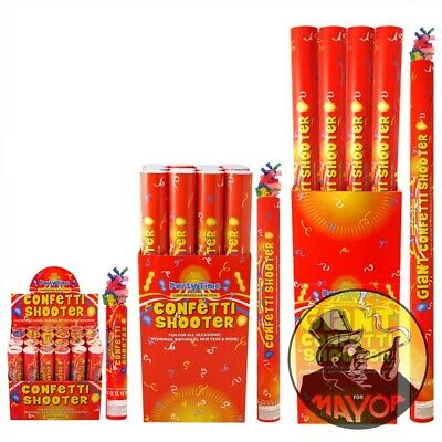 £6.95 • Buy 80cm Giant Confetti Cannon Party Shooter For All Types Party Wedding New Years .