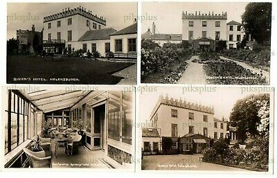 £75 • Buy Old Postcards The Queen's Hotel Helensburgh Argyll & Bute Scotland Real Photos