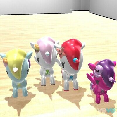 VeVe NFT Mermicorns S1 SET Of 4 Incl. PERLA (UNCOMMON) FIRST APPEARANCE SOLD OUT • 50£