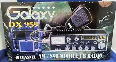 AU301.49 • Buy Galaxy DX959 40 Channel AM/SSB Mobile CB Radio With Frequency Count BRAND NEW