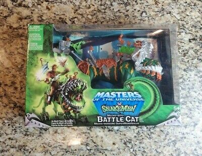 $89.97 • Buy Mecha-Bite Battle Cat Snake Men MASTERS OF THE UNIVERSE MOTU 200x MIB #2