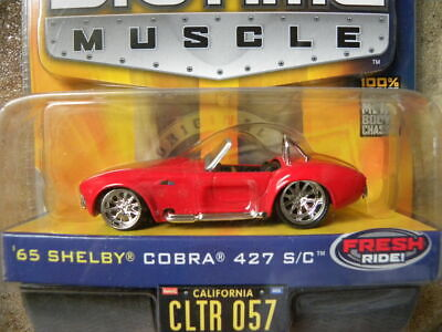 $7.99 • Buy 1965 Shelby Cobra 427 S/c    Cltr 057    Jada Toys Dub City Bigtime Muscle  1:64