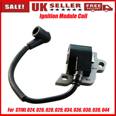 £10.98 • Buy UK Ignition Module Coil For  STIHL 024, 026, 028, 029, 034, 036, 038, 039, 044