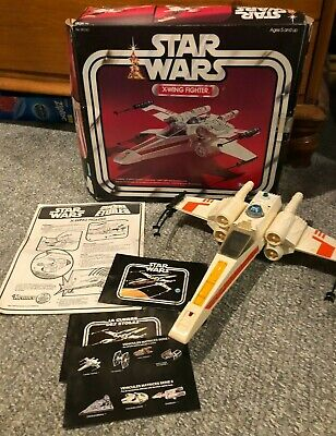 $ CDN282.45 • Buy Star Wars Vintage X-Wing Fighter With The Original Canadian Version Box!