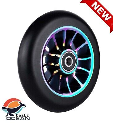 £15.79 • Buy 110mm Alloy Series Pro Stunt Scooter Wheel With ABEC 9 Bearings Fit For MGP/R...